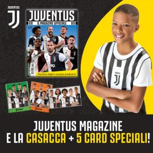 Juventus - Il Magazine Ufficiale  Uscita Nº 17 del 15/04/2020 Periodicità: Mensile Editore: Tridimensional S.r.l.