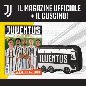 Juventus - Il Magazine Ufficiale  Uscita Nº 24 del 18/11/2020 Periodicità: Mensile Editore: Tridimensional S.r.l.