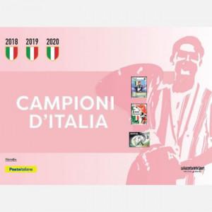 Francobolli Campioni d'Italia  Uscita Nº 3 del 19/12/2020 Periodicità: Settimanale Editore: RCS MediaGroup