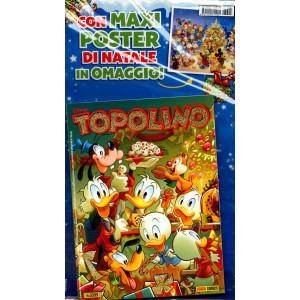 Topolino Libretto Con Allegati - N° 3395 - Con Maxi Poster - Panini Comics