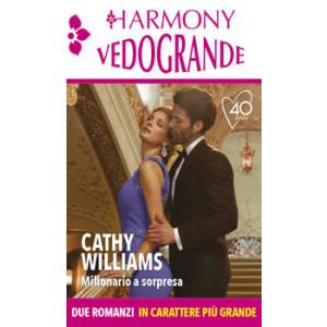 Harmony Harmony Vedogrande - Milionario a sorpresa Di Cathy Williams