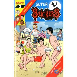 Super Suckers - N° 3 - Spiagge Sicure - Sbam Mag Sbam Comics