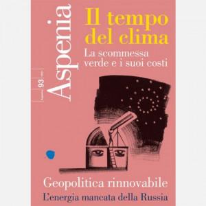 Aspenia  Uscita Nº 2 del 09/06/2021 Periodicità: Trimestrale Editore: Il Sole 24 ORE