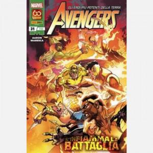 Gli eroi più potenti della terra - Avengers  Uscita Nº 135 del 13/05/2021 Periodicità: Mensile Editore: Panini S.p.A.