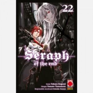 Arashi: Seraph of the end  Uscita Nº 37 del 27/05/2021 Periodicità: Bimestrale Editore: Panini S.p.A.