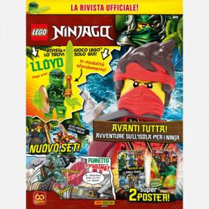 LEGO Ninjago - Magazine  Uscita Nº 40 del 15/04/2021 Periodicità: Bimestrale Editore: Panini S.p.A.
