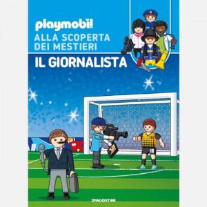 PLAYMOBIL - Alla scoperta dei mestieri  Uscita Nº 60 del 20/03/2021 Periodicità: Settimanale Editore: DeAgostini Publishing