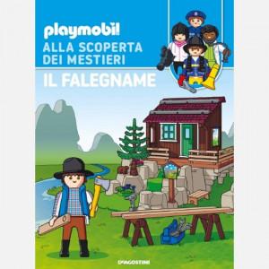 PLAYMOBIL - Alla scoperta dei mestieri  Uscita Nº 59 del 13/03/2021 Periodicità: Settimanale Editore: DeAgostini Publishing