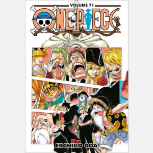 One Piece (ed. 2020)  Uscita Nº 71 del 06/05/2021 Periodicità: Settimanale Editore: RCS MediaGroup
