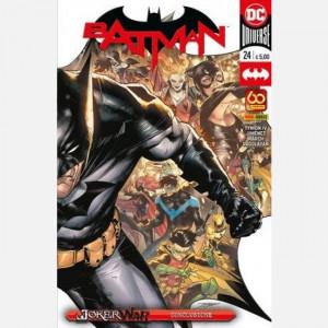 Batman - DC Comics  Uscita Nº 24 del 27/05/2021 Periodicità: Quindicinale Editore: Panini S.p.A.