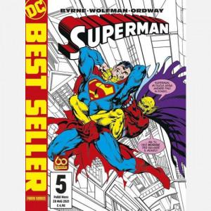 DC Best Seller - Superman  Uscita Nº 5 del 20/05/2021 Periodicità: Bimestrale Editore: Panini S.p.A.