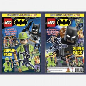 LEGO Batman pack  Uscita Nº 22 del 05/06/2021 Periodicità: Mensile Editore: Panini S.p.A.