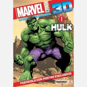 Marvel Heroes 3d edizione 2019 (collezione ufficiale) Hulk