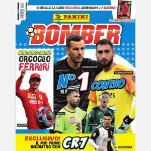 BOMBER - La rivista ufficiale Panini sul calcio Novembre 2019 (N. 1 contro)