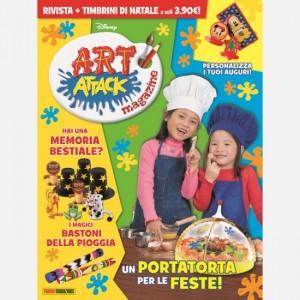 Disney Art Attack - Magazine Numero 34 + I Timbrini per le feste