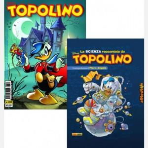Disney Topolino - Edizione speciale Topolino N° 3332 + La scienza raccontata da Topolino