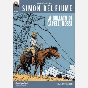 Albi avventura Simon del fiume - La ballata di Capelli Rossi