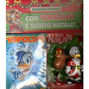 Topolino Libretto Con Allegati - N° 3342 - Paperino 3D Natale - Panini Comics