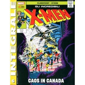 X-Men Di Chris Claremont - N° 6 - X-Men Di Chris Claremont - Marvel Integrale Panini Comics