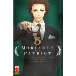 Moriarty The Patriot - N° 5 - Manga Storie Nuova Serie 79 - Manga Storie Nuova Serie Panini Comics