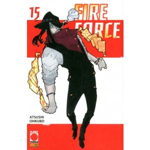 Fire Force - N° 15 - Manga Sun 126 - Panini Comics