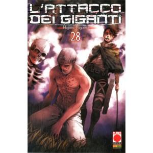 Attacco Dei Giganti - N° 28 - Generation Manga 28 - Panini Comics