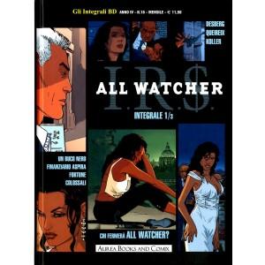 Integrali Bd Nuova Serie - N° 16 - I.R.S. All Watcher Integrale 1 (M3) - Aurea Books And Comix