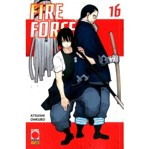 Fire Force - N° 16 - Manga Sun 127 - Panini Comics