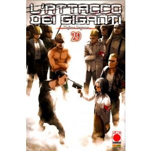 Attacco Dei Giganti - N° 29 - Generation Manga 29 - Panini Comics