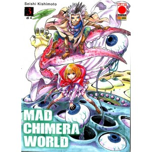 Mad Chimera World (M4) - N° 3 - Fire 12 - Panini Comics