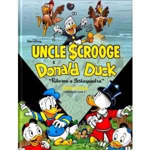 Don Rosa Library Deluxe - N° 2 - Donald Duck: Ritorno A Testaquadra - Panini Comics