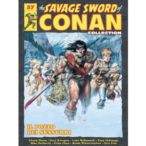 The Savage Sword of Conan Collection uscita 57