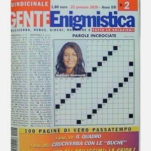GENTE Enigmistica Uscita N° 2 del 2020 (Anno XXI)