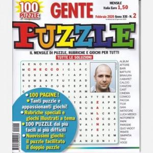 GENTE Puzzle Febbraio 2020 (Anno XIII)