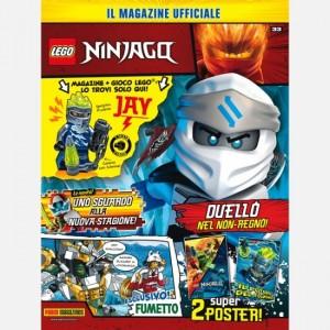 LEGO Ninjago - Magazine Numero 33 + Una minifigure Lego Ninjago!