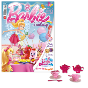 La mia Prima Barbie Barbie Fantasy - Ottobre 2019 + gadget