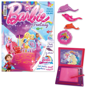 La mia Prima Barbie Barbie Fantasy - Novembre 2019 + 3 delfini + laptop