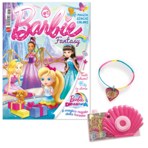 La mia Prima Barbie Barbie Fantasy - Dicembre 2019 + Click camera set