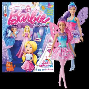 La mia Prima Barbie Barbie Fantasy - Febbario 2020 + Fatina Barbie dreamtopia