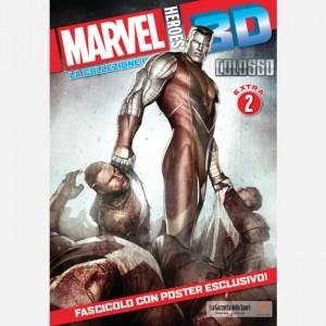 Marvel Heroes 3D - Uscite Speciali (ed. 2019) Colossus - Super miniatura in formato XXL