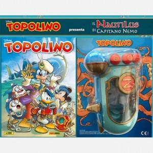 Disney Topolino presenta Il Nautilus di Capitano Nemo  Uscita Nº 3355                                                             del 11/03/2020                             Periodicità: Mensile Editore: PANINI S.p.A.  WALT DISNEY