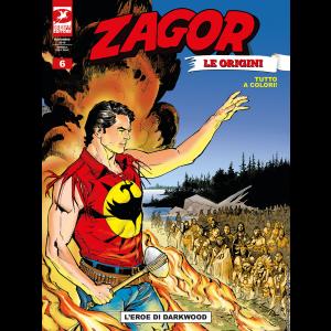 Zagor Le Origini N.6 - L'eroe di Darkwood