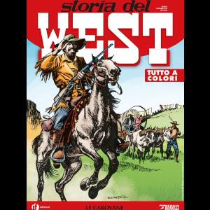 Storia del West N.8 - Le carovane