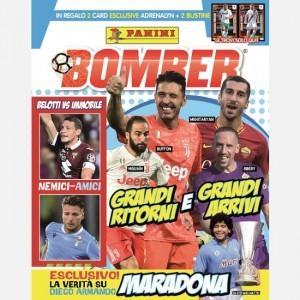 BOMBER - La rivista ufficiale Panini sul calcio Ottobre 2019 (Grandi Ritorni e Grandi Arrivi)