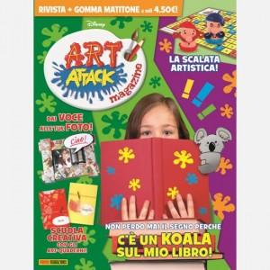 Disney Art Attack - Magazine Numero 32 + La gomma matita