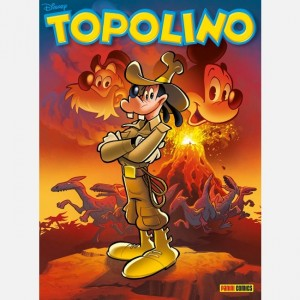 Disney Topolino Topolino N° 3331 + Bustina Calciatori Adrenalyn XL 2019-20