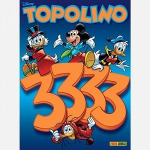 Disney Topolino Topolino N° 3333 + Bustina Calciatori Adrenalyn XL 2019-20