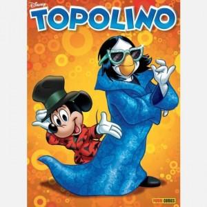 Disney Topolino Topolino N° 3334 con cover RENATO ZERO
