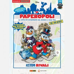 I Love Paperopoli 1 parte Nave + Famedoro + 1 pezzo Base