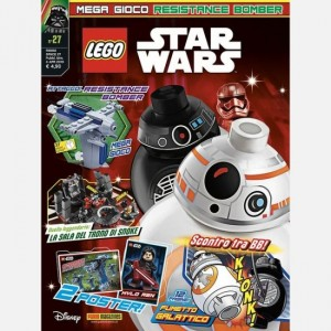 LEGO Star Wars - Magazine Numero 27 + Resistance Bomber
